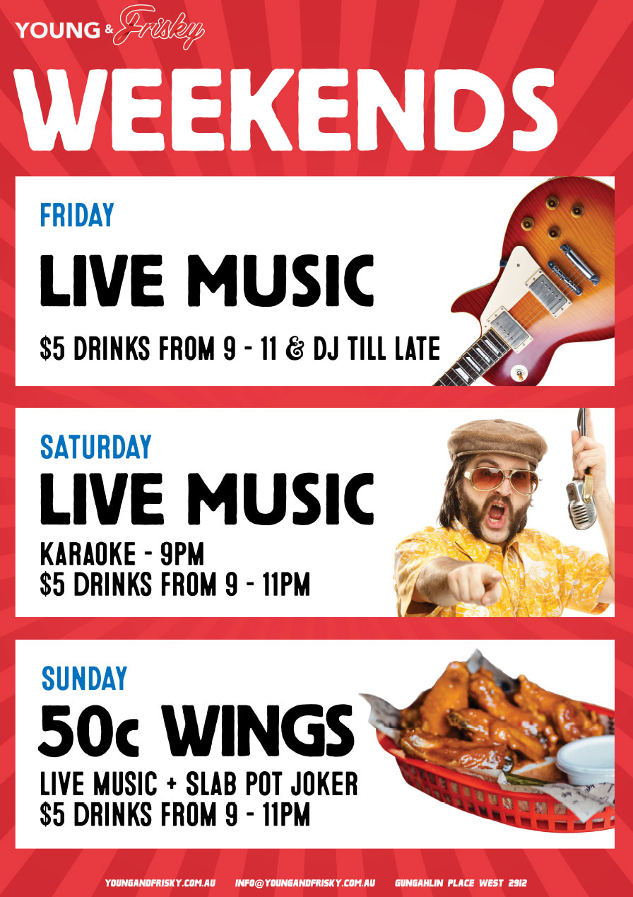 Weekend whatson