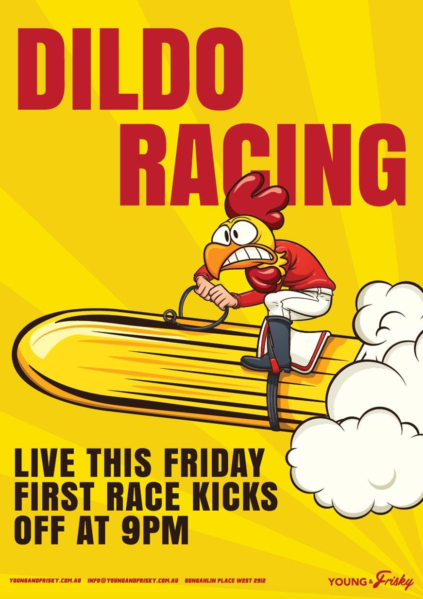 Dildo racing