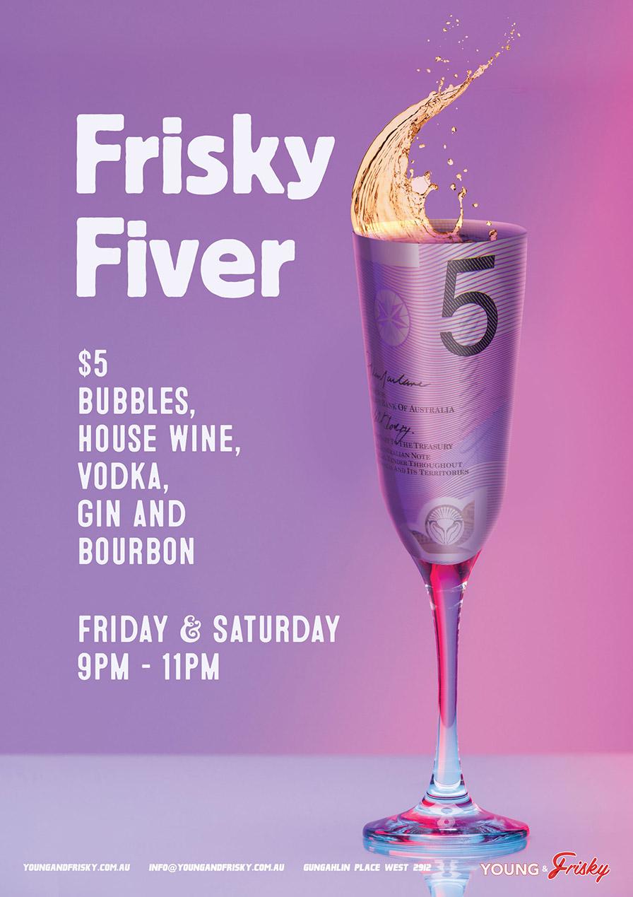 Frisky Fiver